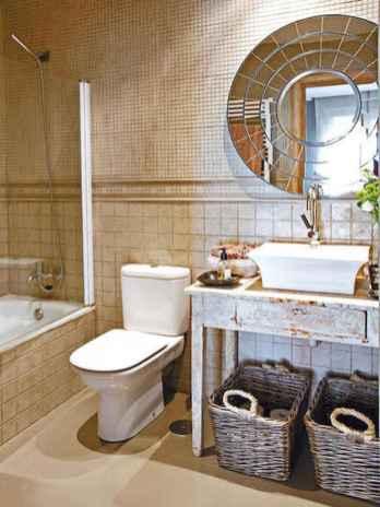 150 Amazing Small Farmhouse Bathroom Decor Ideas And Remoddel (60)