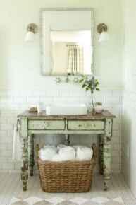 150 Amazing Small Farmhouse Bathroom Decor Ideas And Remoddel (69)