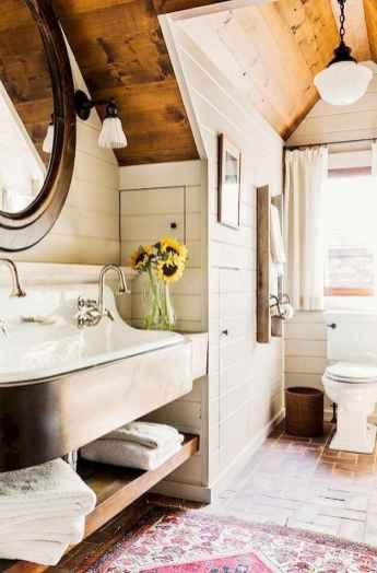 150 Amazing Small Farmhouse Bathroom Decor Ideas And Remoddel (94)