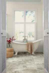 150 Awesome Farmhouse Bathroom Tile Floor Decor Ideas And Remodel To Inspire Your Bathroom (118)