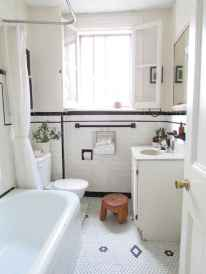 150 Awesome Farmhouse Bathroom Tile Floor Decor Ideas And Remodel To Inspire Your Bathroom (121)