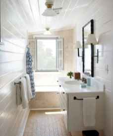 150 Awesome Farmhouse Bathroom Tile Floor Decor Ideas And Remodel To Inspire Your Bathroom (122)