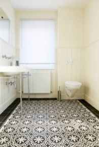 150 Awesome Farmhouse Bathroom Tile Floor Decor Ideas And Remodel To Inspire Your Bathroom (13)