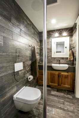 150 Awesome Farmhouse Bathroom Tile Floor Decor Ideas And Remodel To Inspire Your Bathroom (132)