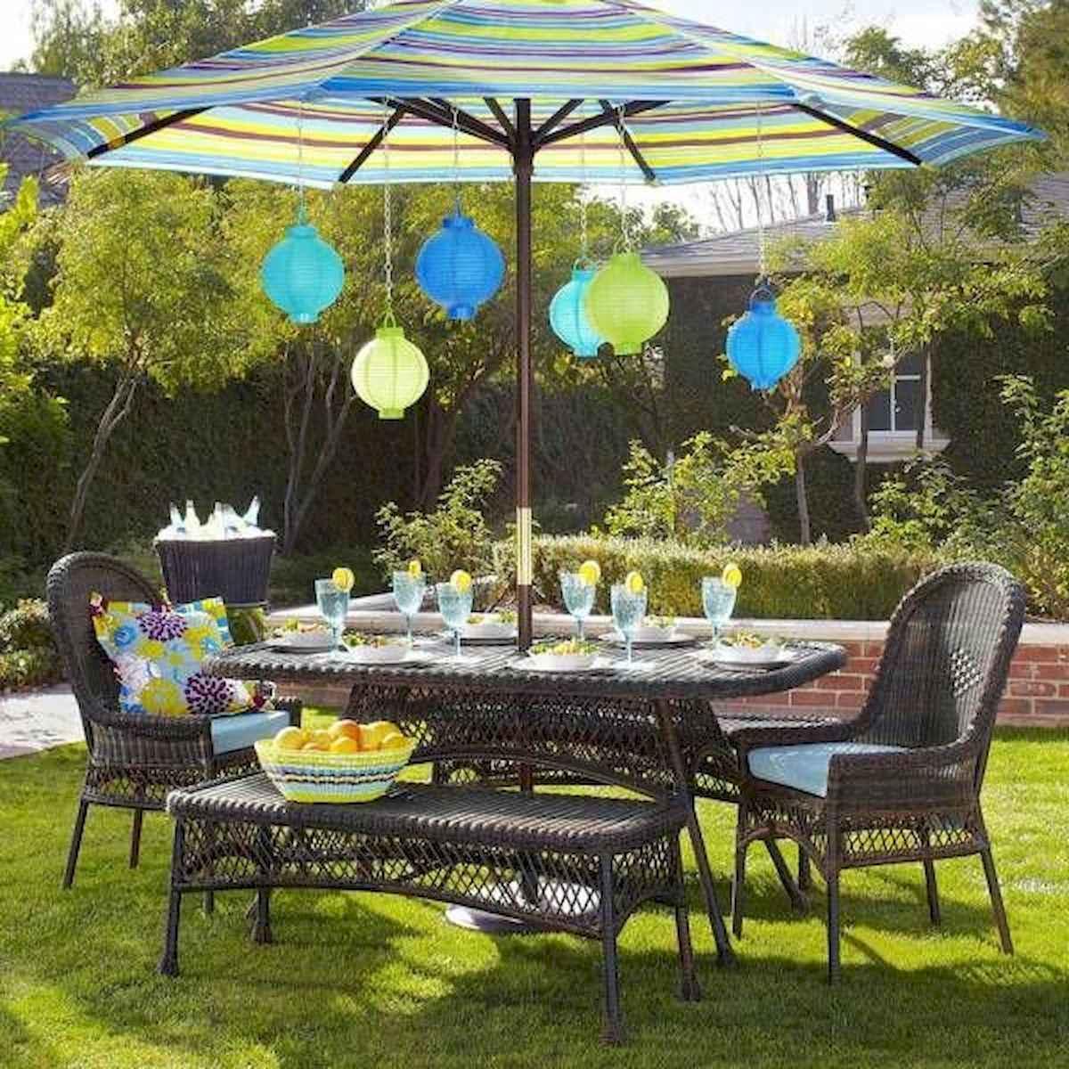 50 Awesome Summer Backyard Decor Ideas Make Your Summer Beautiful (19)