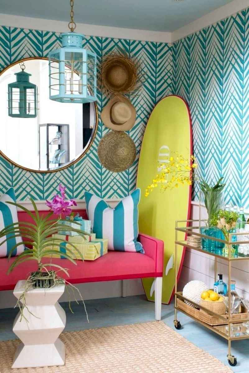 50 Beautiful Summer Apartment Decor Ideas And Makeover (19)