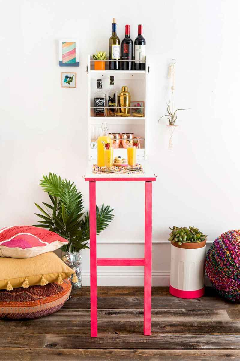 50 Beautiful Summer Apartment Decor Ideas And Makeover (35)