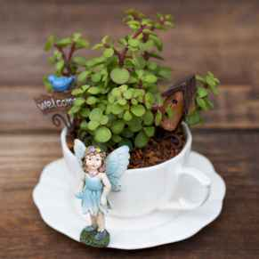 50 DIY Summer Garden Teacup Fairy Garden Ideas (44)