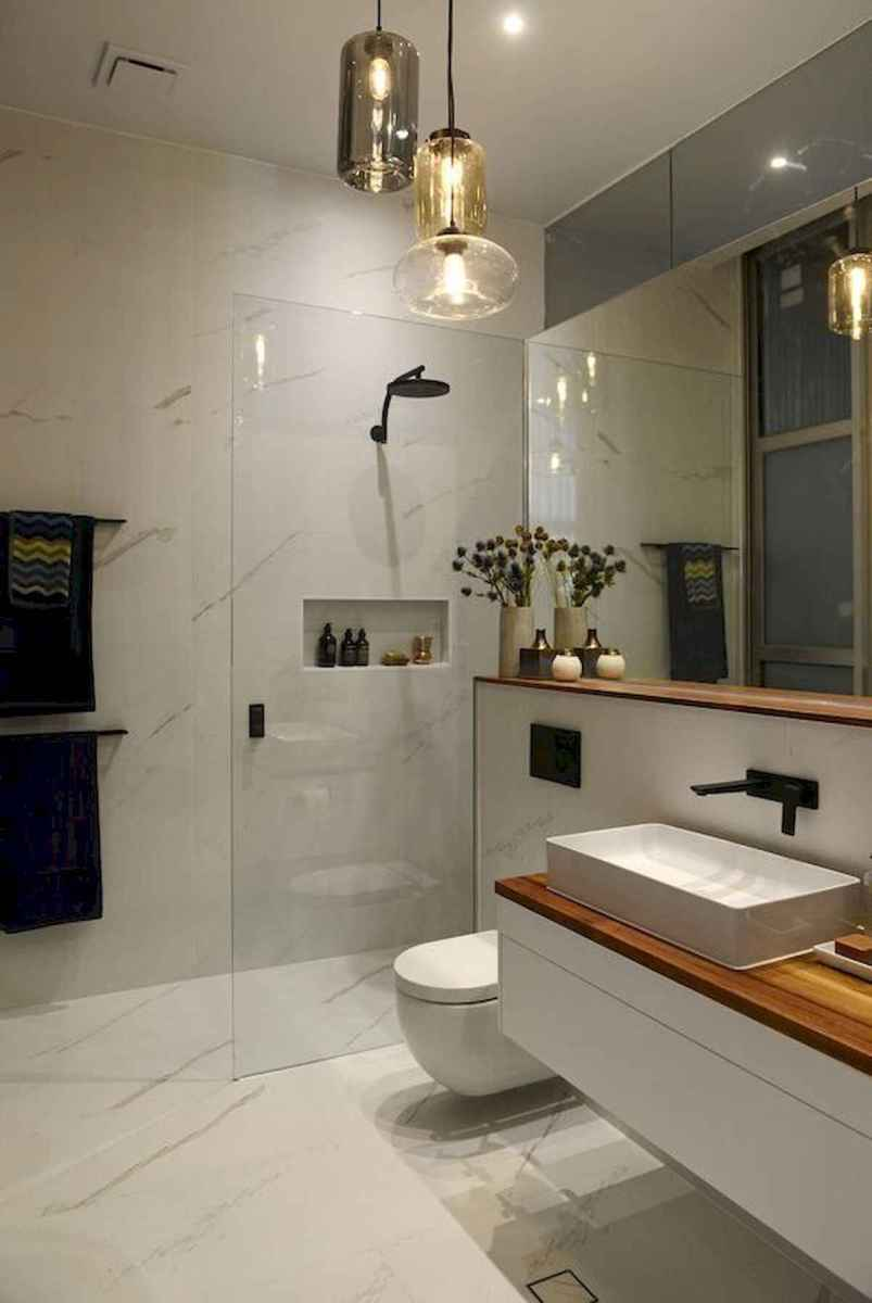 50 Lighting For Farmhouse Bathroom Ideas Decorating And Remodel (22)