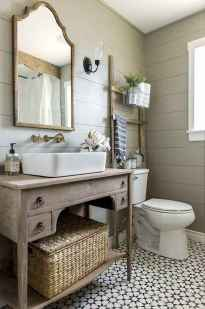 50 Lighting For Farmhouse Bathroom Ideas Decorating And Remodel (24)