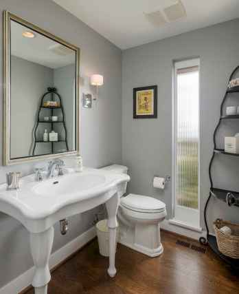 50 Lighting For Farmhouse Bathroom Ideas Decorating And Remodel (40)