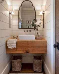 50 Lighting For Farmhouse Bathroom Ideas Decorating And Remodel (6)