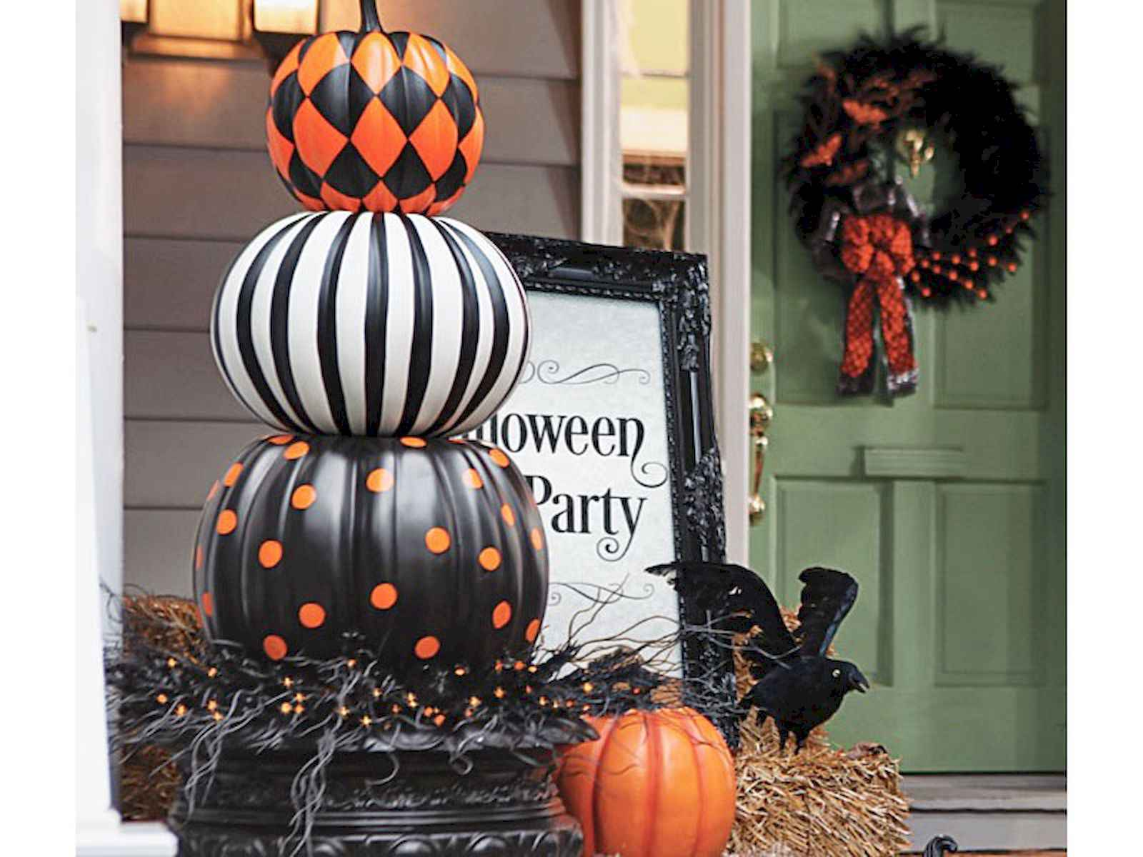Halloween Home Design Ideas: 60 DIY Outdoor Halloween Decorations Ideas And Makeover