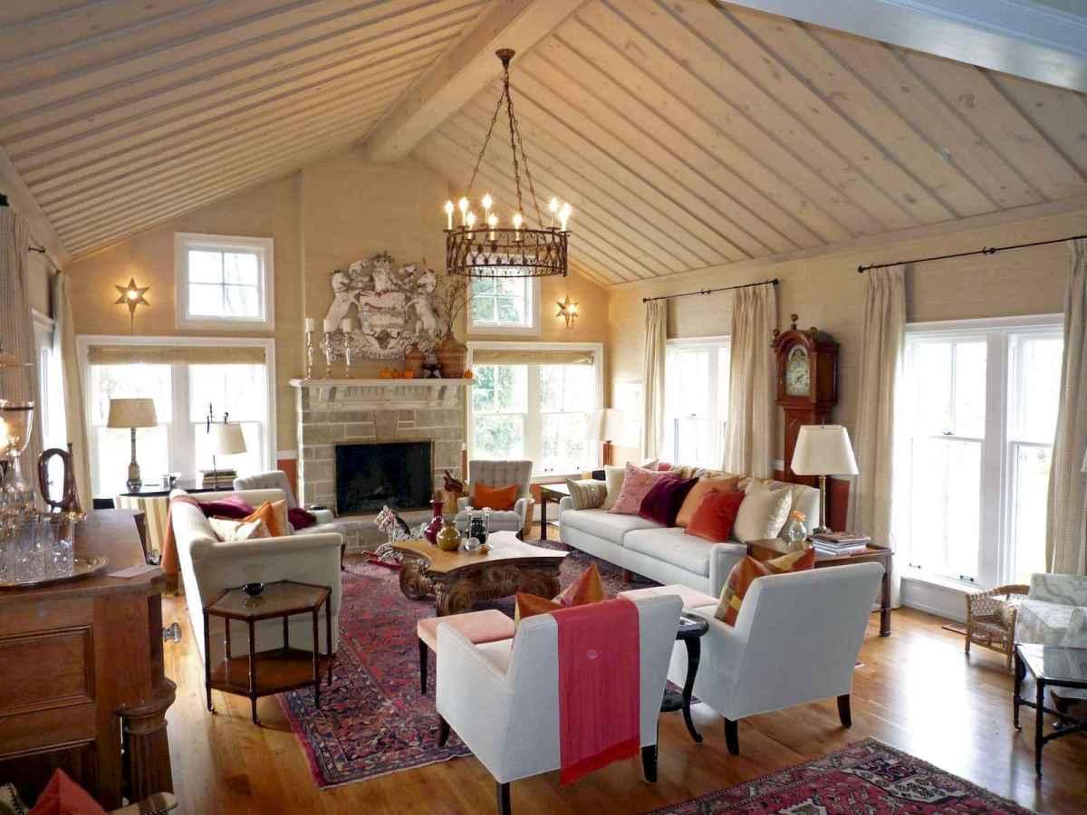 60 Farmhouse Living Room Lighting Ideas Decor And Design (31)