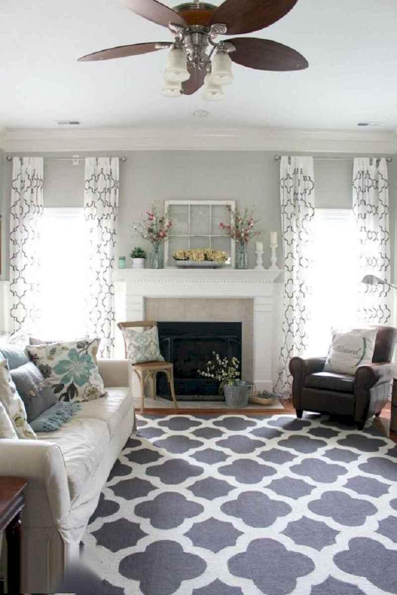 60 Farmhouse Living Room Lighting Ideas Decor And Design (55)