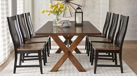 60 Modern Farmhouse Dining Room Table Ideas Decor And Makeover (2)