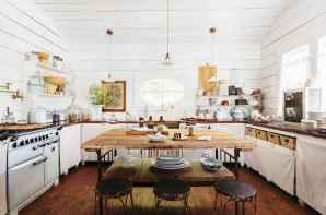 60 Modern Farmhouse Dining Room Table Ideas Decor And Makeover (21)