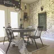 60 Modern Farmhouse Dining Room Table Ideas Decor And Makeover (23)