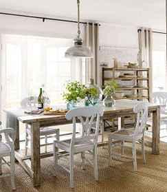 60 Modern Farmhouse Dining Room Table Ideas Decor And Makeover (34)