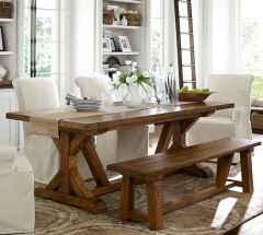 60 Modern Farmhouse Dining Room Table Ideas Decor And Makeover (41)