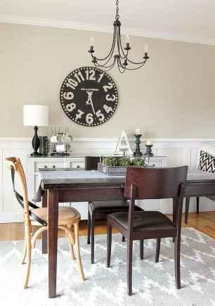 60 Modern Farmhouse Dining Room Table Ideas Decor And Makeover (48)