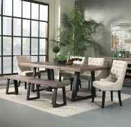 60 Modern Farmhouse Dining Room Table Ideas Decor And Makeover (52)