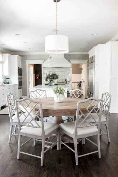 60 Modern Farmhouse Dining Room Table Ideas Decor And Makeover (57)