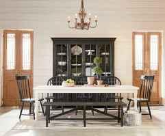 60 Modern Farmhouse Dining Room Table Ideas Decor And Makeover (60)