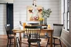 60 Modern Farmhouse Dining Room Table Ideas Decor And Makeover (9)