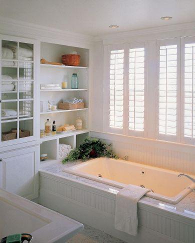 70 Inspiring Farmhouse Bathroom Shower Decor Ideas And Remodel (2)