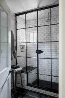 70 Inspiring Farmhouse Bathroom Shower Decor Ideas And Remodel (23)