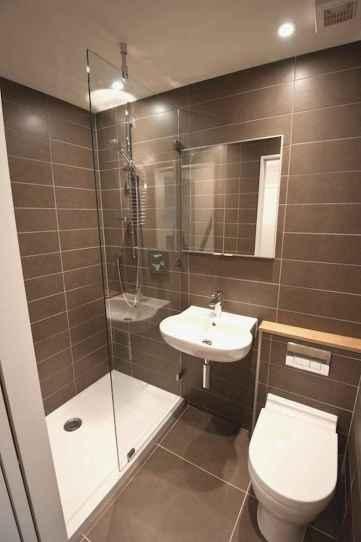 70 Inspiring Farmhouse Bathroom Shower Decor Ideas And Remodel (56)