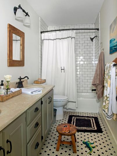 80 Awesome Farmhouse Master Bathroom Decor Ideas And Remodel (1)