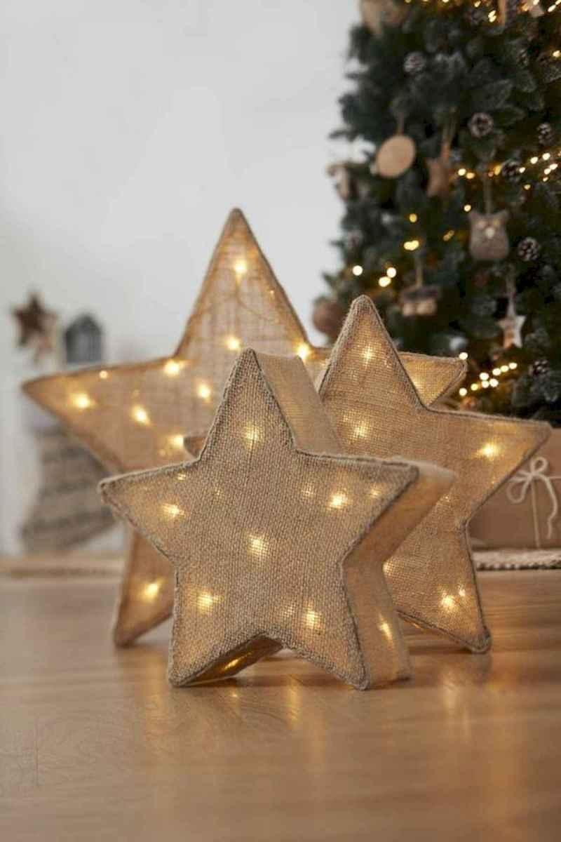 30 Rustic And Vintage Christmas Tree Decor Ideas (14)