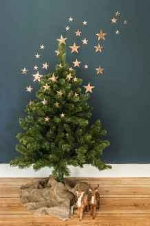 30 Rustic And Vintage Christmas Tree Decor Ideas (5)