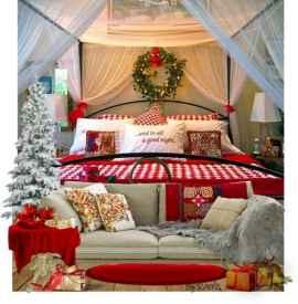 40 Awesome Bedroom Christmas Decor Ideas (6)
