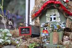 45 Beautiful Christmas Fairy Garden Decor Ideas (24)