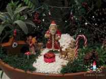 45 Beautiful Christmas Fairy Garden Decor Ideas (3)