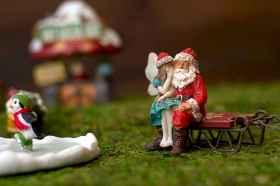 45 Beautiful Christmas Fairy Garden Decor Ideas (33)