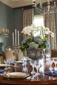 50 Stunning Christmas Table Dining Rooms Decor Ideas (6)