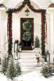 50 Stunning Front Porch Christmas Lights Decor Ideas (18)