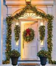 50 Stunning Front Porch Christmas Lights Decor Ideas (24)