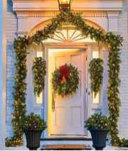 50 Stunning Front Porch Christmas Lights Decor Ideas (24)