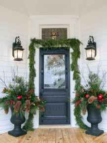 50 Stunning Front Porch Christmas Lights Decor Ideas (46)