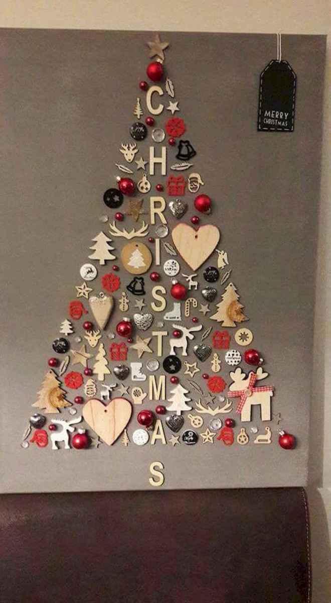 60 Awesome Wall Art Christmas Decor Ideas (43)