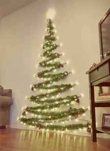 60 Simple Living Room Christmas Decor Ideas (45)