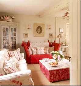 60 Simple Living Room Christmas Decor Ideas (52)