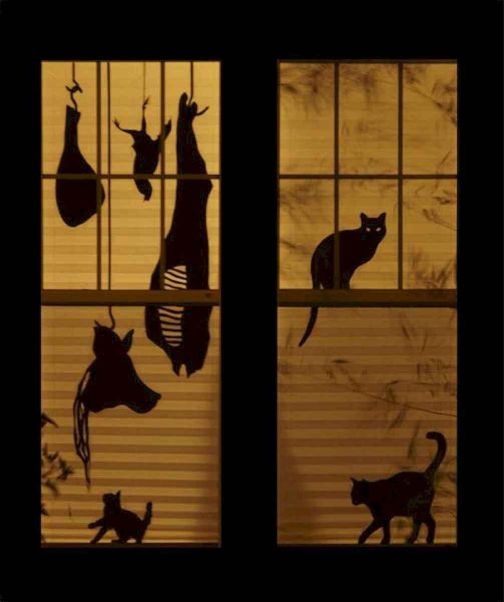 15 Creative Halloween Window Decoration Ideas (9)