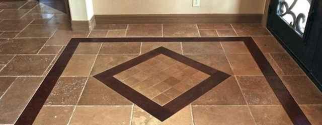 20 Best Tile Rug Inlay Bathroom Decor Ideas (11)