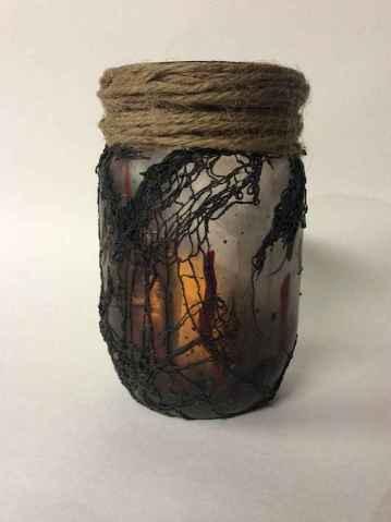 30 Best Creative DIY Mason Jar Halloween Crafts to Spice Up Your Fall Decor (21)